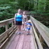 Ricketts Glen Hike with Mom, Megan, and Xander